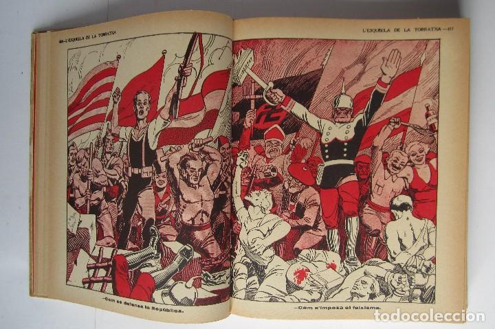 Libros de segunda mano: L´esquella de la Torratxa. Guerra Civil Vol. I 1936. Números del 2975 al 2995. Reedición 1979 - Foto 6 - 116556443