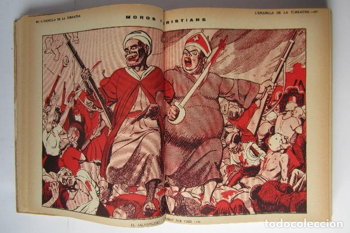Libros de segunda mano: L´esquella de la Torratxa. Guerra Civil Vol. I 1936. Números del 2975 al 2995. Reedición 1979 - Foto 9 - 116556443