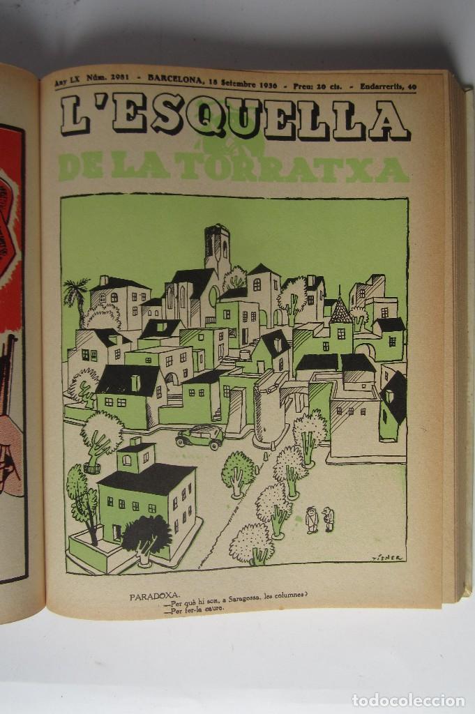 Libros de segunda mano: L´esquella de la Torratxa. Guerra Civil Vol. I 1936. Números del 2975 al 2995. Reedición 1979 - Foto 13 - 116556443