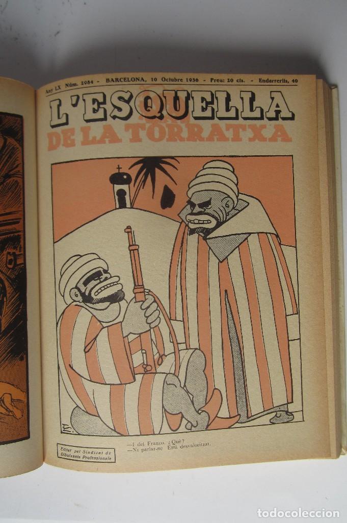 Libros de segunda mano: L´esquella de la Torratxa. Guerra Civil Vol. I 1936. Números del 2975 al 2995. Reedición 1979 - Foto 16 - 116556443