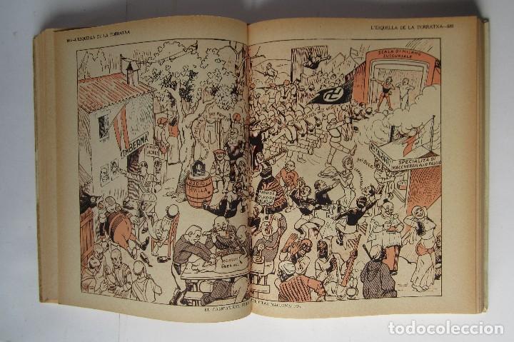 Libros de segunda mano: L´esquella de la Torratxa. Guerra Civil Vol. I 1936. Números del 2975 al 2995. Reedición 1979 - Foto 17 - 116556443
