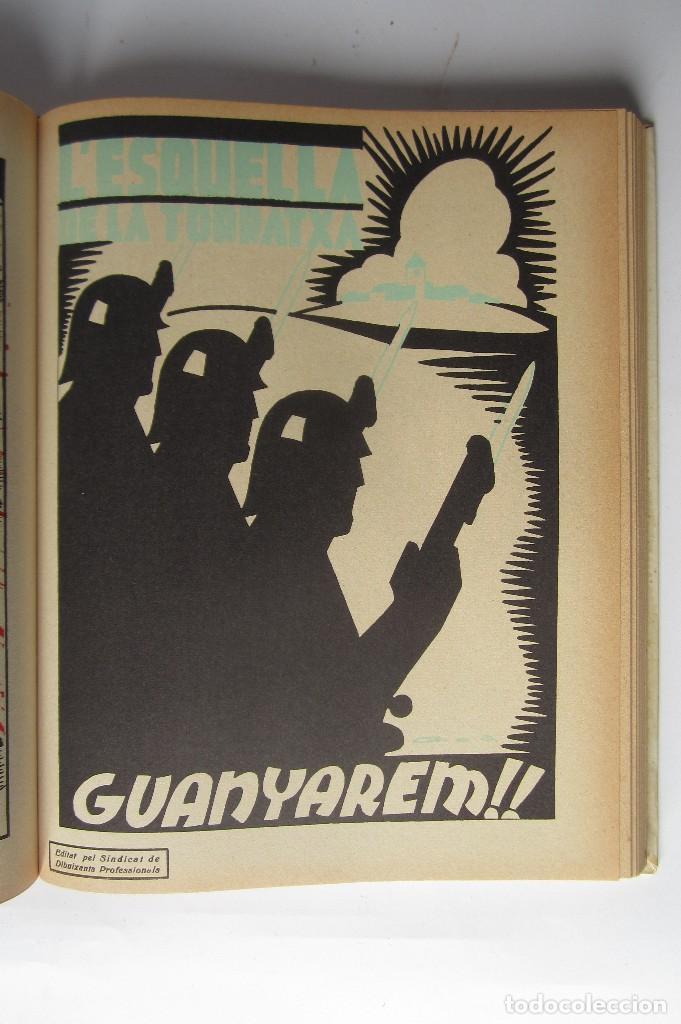 Libros de segunda mano: L´esquella de la Torratxa. Guerra Civil Vol. I 1936. Números del 2975 al 2995. Reedición 1979 - Foto 19 - 116556443