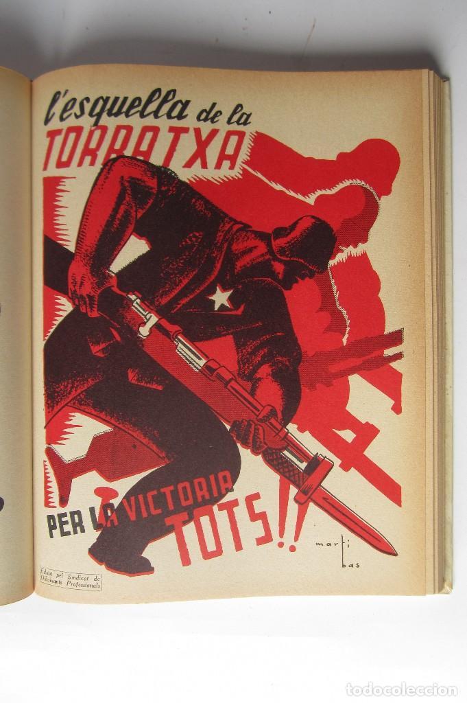 Libros de segunda mano: L´esquella de la Torratxa. Guerra Civil Vol. I 1936. Números del 2975 al 2995. Reedición 1979 - Foto 20 - 116556443