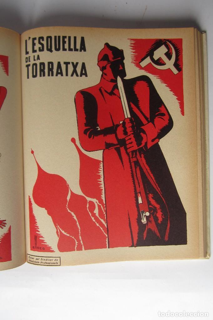 Libros de segunda mano: L´esquella de la Torratxa. Guerra Civil Vol. I 1936. Números del 2975 al 2995. Reedición 1979 - Foto 21 - 116556443