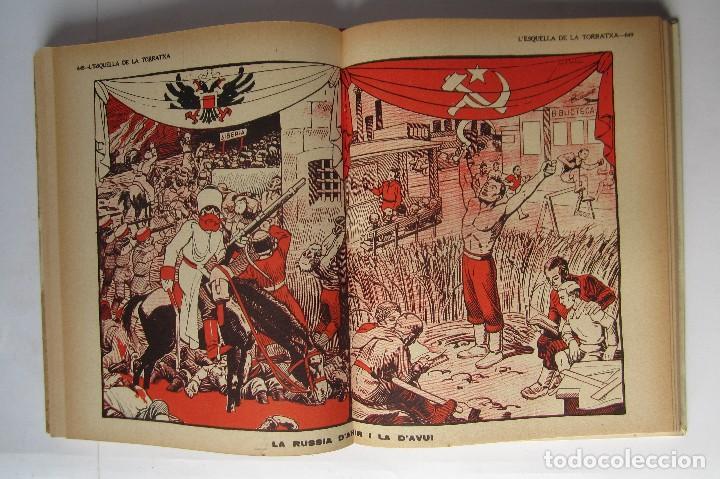 Libros de segunda mano: L´esquella de la Torratxa. Guerra Civil Vol. I 1936. Números del 2975 al 2995. Reedición 1979 - Foto 22 - 116556443
