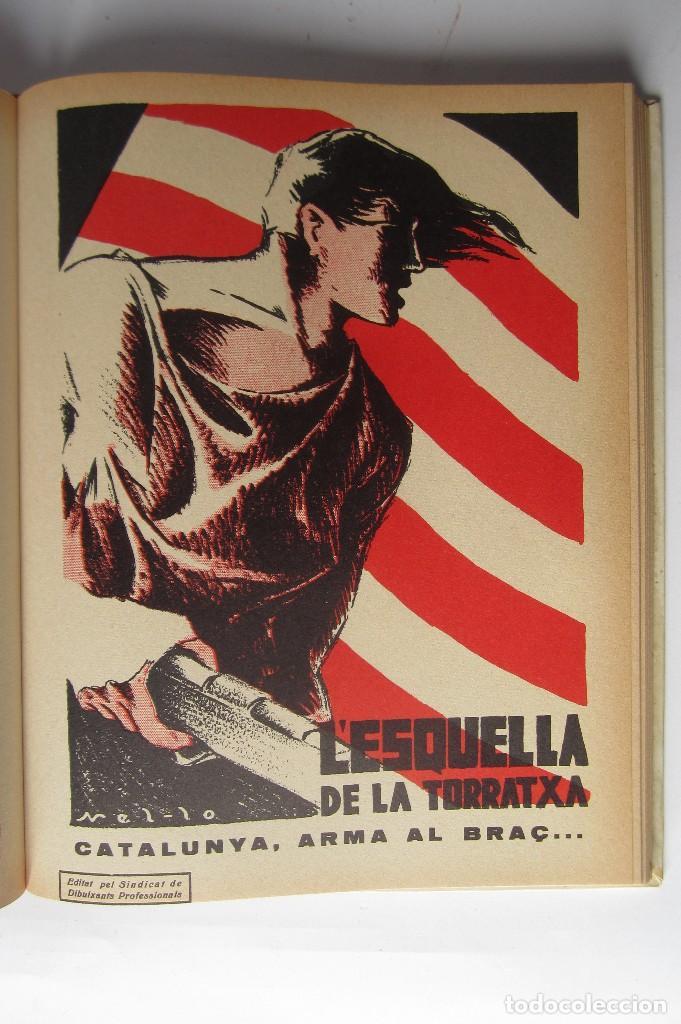 Libros de segunda mano: L´esquella de la Torratxa. Guerra Civil Vol. I 1936. Números del 2975 al 2995. Reedición 1979 - Foto 23 - 116556443