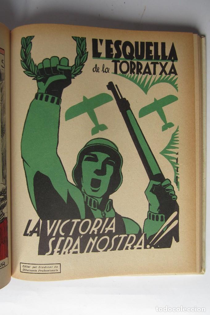 Libros de segunda mano: L´esquella de la Torratxa. Guerra Civil Vol. I 1936. Números del 2975 al 2995. Reedición 1979 - Foto 24 - 116556443
