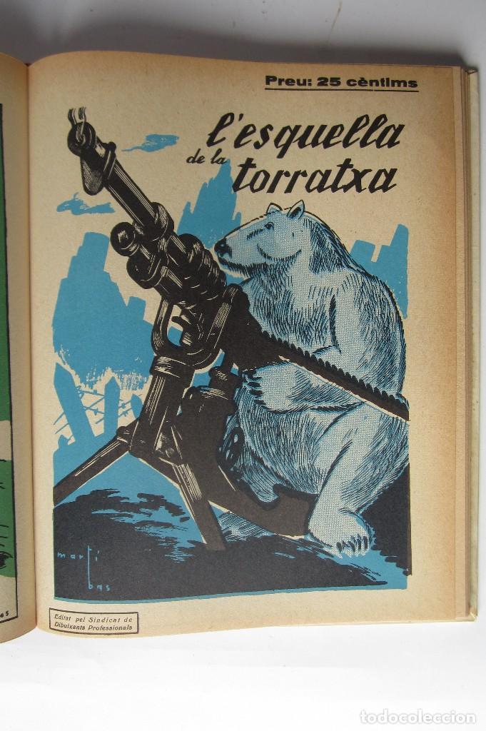 Libros de segunda mano: L´esquella de la Torratxa. Guerra Civil Vol. I 1936. Números del 2975 al 2995. Reedición 1979 - Foto 25 - 116556443