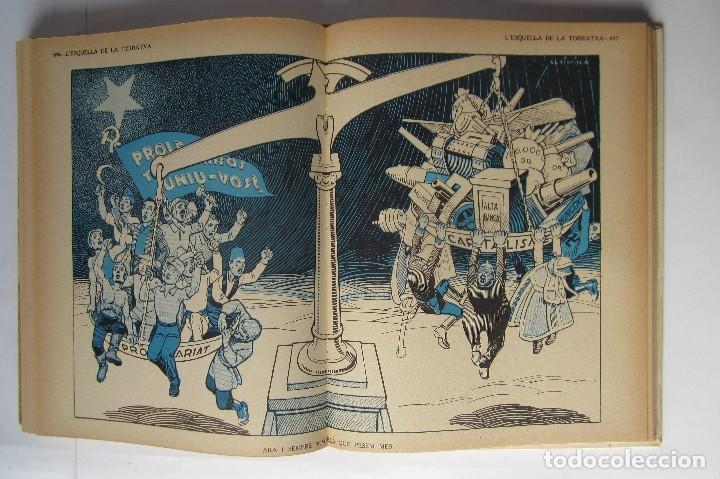 Libros de segunda mano: L´esquella de la Torratxa. Guerra Civil Vol. I 1936. Números del 2975 al 2995. Reedición 1979 - Foto 26 - 116556443