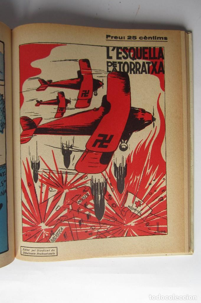 Libros de segunda mano: L´esquella de la Torratxa. Guerra Civil Vol. I 1936. Números del 2975 al 2995. Reedición 1979 - Foto 27 - 116556443