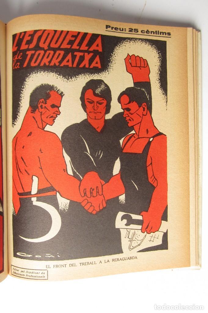 Libros de segunda mano: L´esquella de la Torratxa. Guerra Civil Vol. I 1936. Números del 2975 al 2995. Reedición 1979 - Foto 28 - 116556443