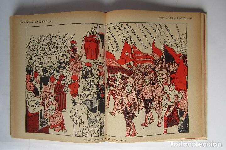 Libros de segunda mano: L´esquella de la Torratxa. Guerra Civil Vol. I 1936. Números del 2975 al 2995. Reedición 1979 - Foto 29 - 116556443