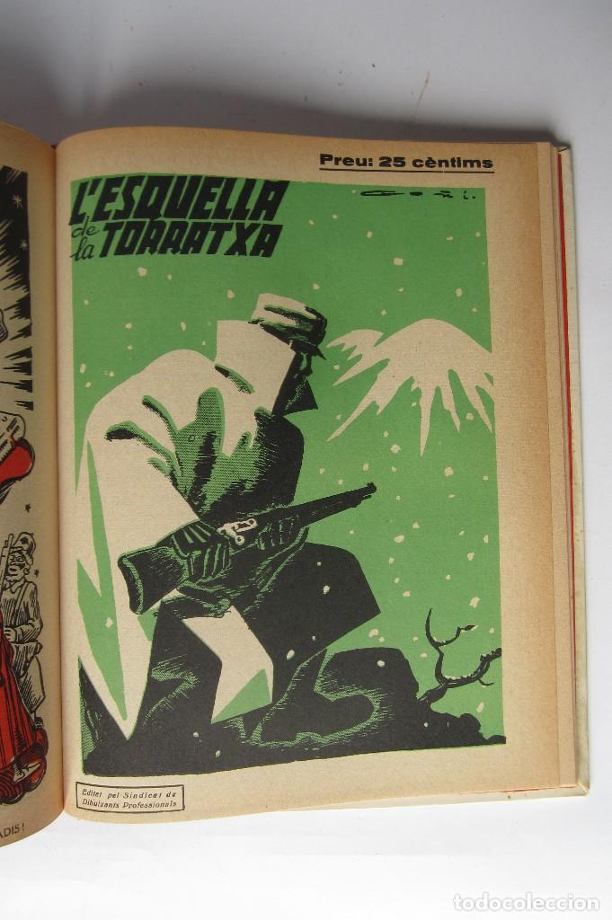 Libros de segunda mano: L´esquella de la Torratxa. Guerra Civil Vol. I 1936. Números del 2975 al 2995. Reedición 1979 - Foto 30 - 116556443