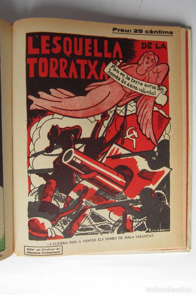 Libros de segunda mano: L´esquella de la Torratxa. Guerra Civil Vol. I 1936. Números del 2975 al 2995. Reedición 1979 - Foto 31 - 116556443