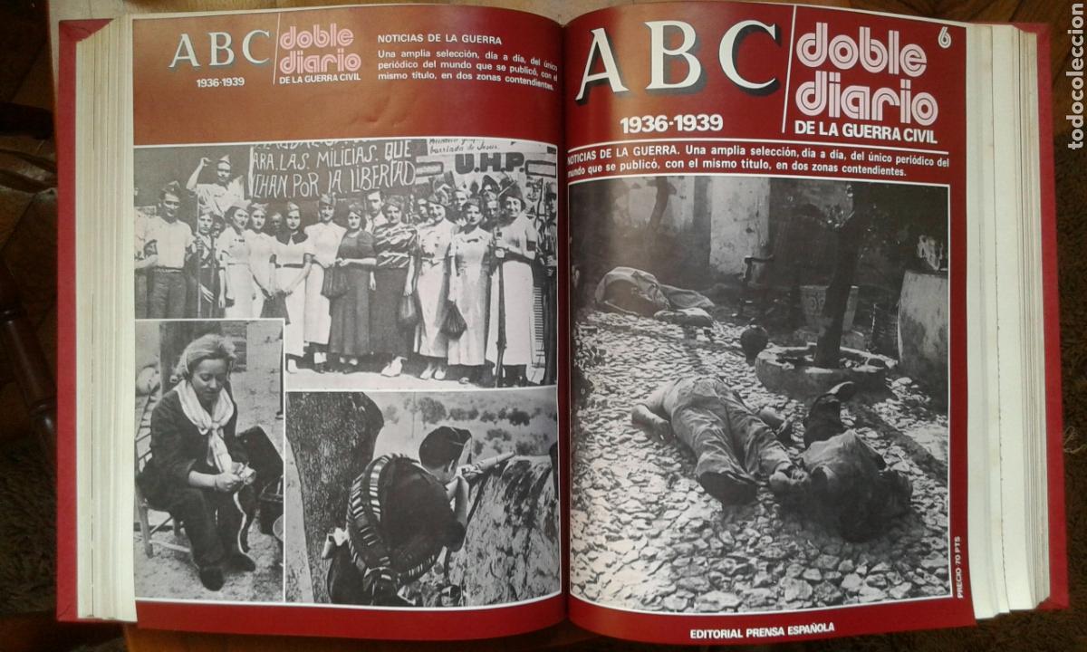 ABC DOBLE DIARIO (COMPLETO 8T) (Libros de Segunda Mano - Historia - Guerra Civil Española)