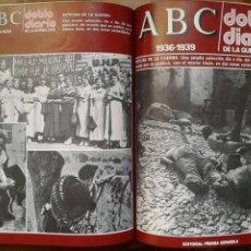 Libros de segunda mano: ABC DOBLE DIARIO (COMPLETO 8T). Lote 119036764