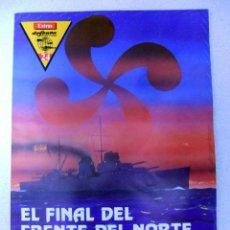 Libros de segunda mano: MEMORIA DE LA GUERRA EN EUZKADI, EL FINAL DEL FRENTE NORTE, LOS VASCOS EN ASTURIAS, GUERRA CIVIL.. Lote 119178607
