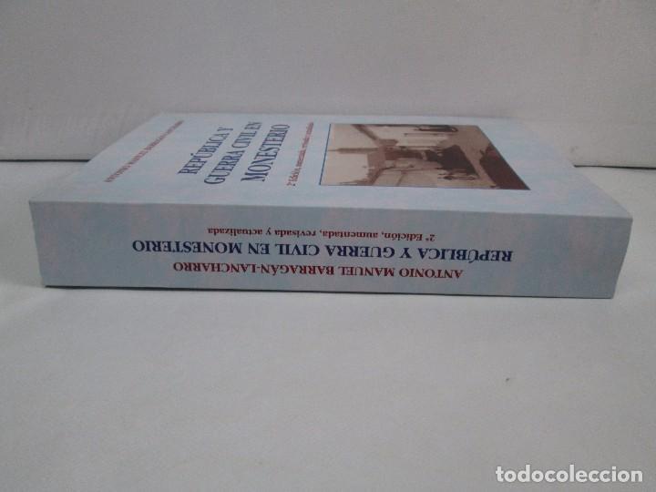 Libros de segunda mano: REPUBLICA Y GUERRA CIVIL EN MONESTERIO. ANTONIO MANUEL BARRAGAN LANCHARRO. 2010. VER FOTOS - Foto 7 - 119238839