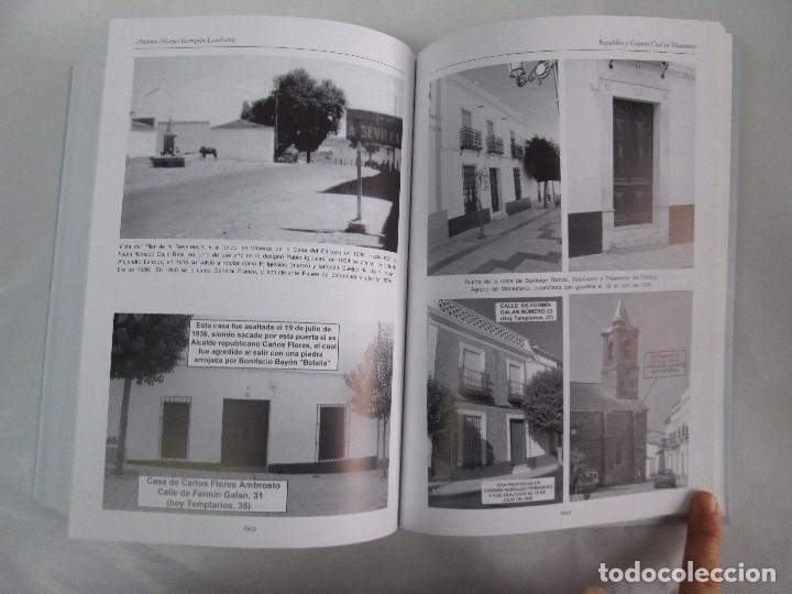 Libros de segunda mano: REPUBLICA Y GUERRA CIVIL EN MONESTERIO. ANTONIO MANUEL BARRAGAN LANCHARRO. 2010. VER FOTOS - Foto 28 - 119238839