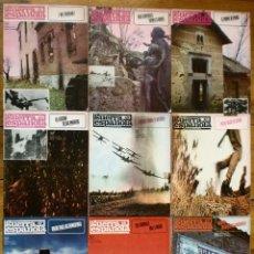 Libros de segunda mano: LOTE NÚMEROS 41 AL 49 CRONICA DE LA GUERRA ESPAÑOLA - CIVIL FRANCO REPÚBLICA. Lote 119469763