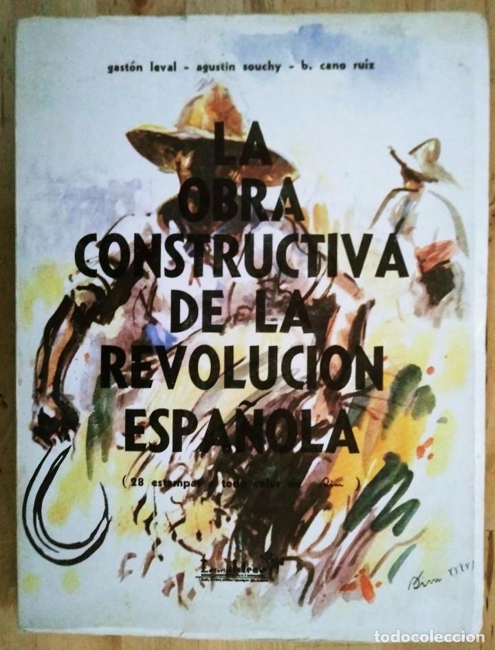 Libros de segunda mano: La obra constructiva de la revolución Española, Guerra Civil. 28 estampas de Sim. CNT. FAI - Foto 2 - 120154091