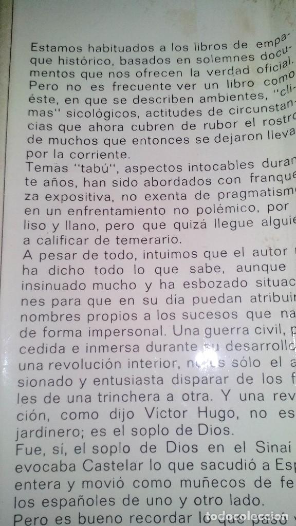Libros de segunda mano: Conspiración y Guerra Civil - Jaime del Burgo-ALFAGUARA PRIMERA EDICION 1970-VER 28 FOTOS INDICE - Foto 5 - 121457479