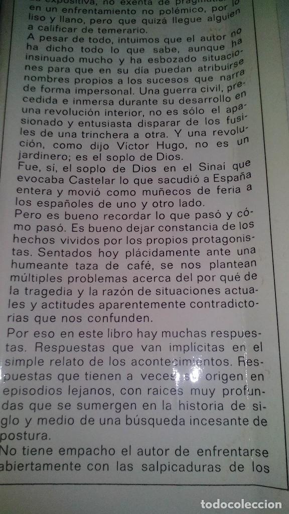 Libros de segunda mano: Conspiración y Guerra Civil - Jaime del Burgo-ALFAGUARA PRIMERA EDICION 1970-VER 28 FOTOS INDICE - Foto 6 - 121457479
