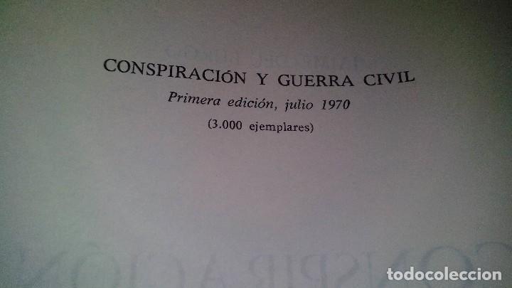 Libros de segunda mano: Conspiración y Guerra Civil - Jaime del Burgo-ALFAGUARA PRIMERA EDICION 1970-VER 28 FOTOS INDICE - Foto 9 - 121457479