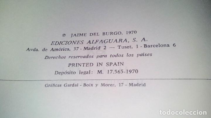Libros de segunda mano: Conspiración y Guerra Civil - Jaime del Burgo-ALFAGUARA PRIMERA EDICION 1970-VER 28 FOTOS INDICE - Foto 10 - 121457479