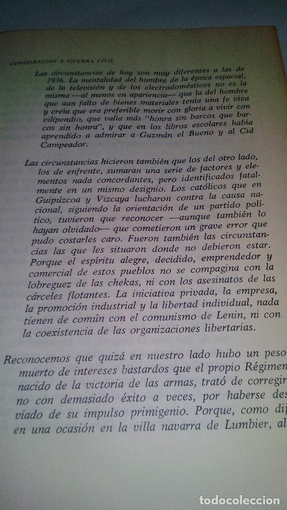 Libros de segunda mano: Conspiración y Guerra Civil - Jaime del Burgo-ALFAGUARA PRIMERA EDICION 1970-VER 28 FOTOS INDICE - Foto 13 - 121457479