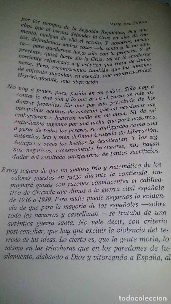 Libros de segunda mano: Conspiración y Guerra Civil - Jaime del Burgo-ALFAGUARA PRIMERA EDICION 1970-VER 28 FOTOS INDICE - Foto 14 - 121457479