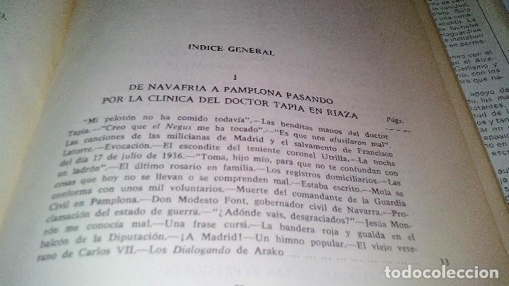 Libros de segunda mano: Conspiración y Guerra Civil - Jaime del Burgo-ALFAGUARA PRIMERA EDICION 1970-VER 28 FOTOS INDICE - Foto 16 - 121457479