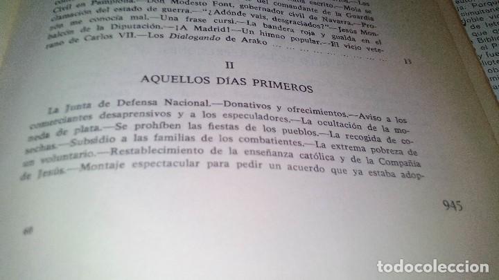 Libros de segunda mano: Conspiración y Guerra Civil - Jaime del Burgo-ALFAGUARA PRIMERA EDICION 1970-VER 28 FOTOS INDICE - Foto 17 - 121457479