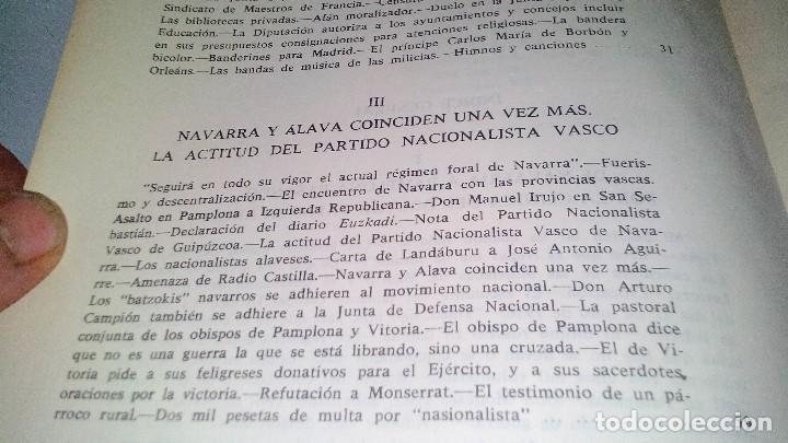 Libros de segunda mano: Conspiración y Guerra Civil - Jaime del Burgo-ALFAGUARA PRIMERA EDICION 1970-VER 28 FOTOS INDICE - Foto 19 - 121457479