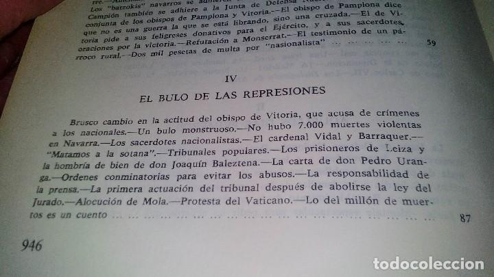 Libros de segunda mano: Conspiración y Guerra Civil - Jaime del Burgo-ALFAGUARA PRIMERA EDICION 1970-VER 28 FOTOS INDICE - Foto 20 - 121457479