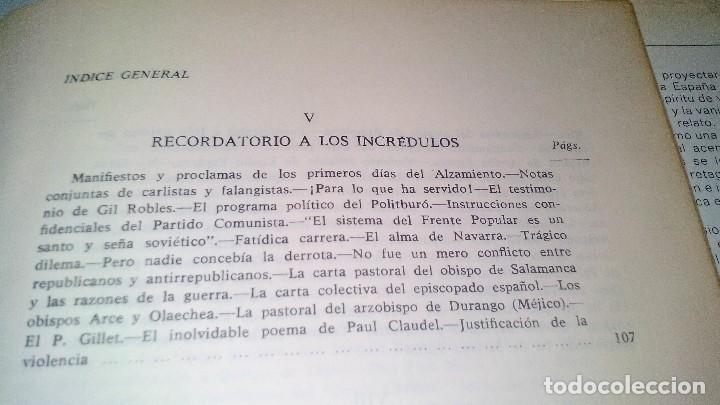 Libros de segunda mano: Conspiración y Guerra Civil - Jaime del Burgo-ALFAGUARA PRIMERA EDICION 1970-VER 28 FOTOS INDICE - Foto 21 - 121457479