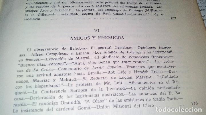 Libros de segunda mano: Conspiración y Guerra Civil - Jaime del Burgo-ALFAGUARA PRIMERA EDICION 1970-VER 28 FOTOS INDICE - Foto 22 - 121457479