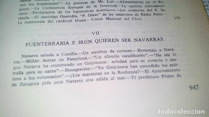 Libros de segunda mano: Conspiración y Guerra Civil - Jaime del Burgo-ALFAGUARA PRIMERA EDICION 1970-VER 28 FOTOS INDICE - Foto 23 - 121457479