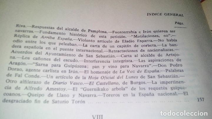Libros de segunda mano: Conspiración y Guerra Civil - Jaime del Burgo-ALFAGUARA PRIMERA EDICION 1970-VER 28 FOTOS INDICE - Foto 24 - 121457479
