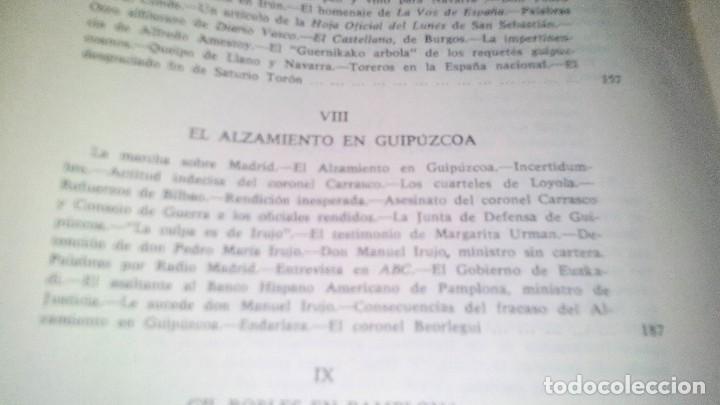 Libros de segunda mano: Conspiración y Guerra Civil - Jaime del Burgo-ALFAGUARA PRIMERA EDICION 1970-VER 28 FOTOS INDICE - Foto 25 - 121457479