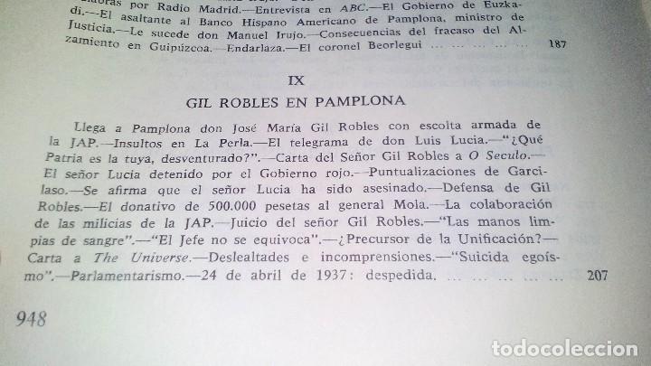 Libros de segunda mano: Conspiración y Guerra Civil - Jaime del Burgo-ALFAGUARA PRIMERA EDICION 1970-VER 28 FOTOS INDICE - Foto 26 - 121457479