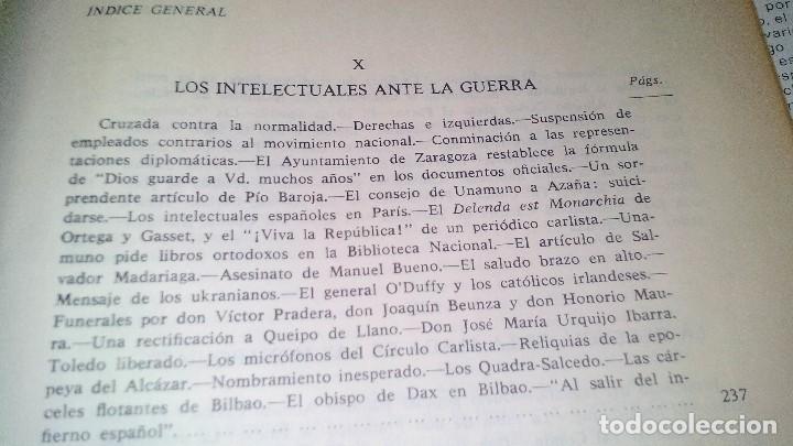 Libros de segunda mano: Conspiración y Guerra Civil - Jaime del Burgo-ALFAGUARA PRIMERA EDICION 1970-VER 28 FOTOS INDICE - Foto 27 - 121457479
