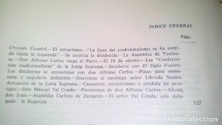 Libros de segunda mano: Conspiración y Guerra Civil - Jaime del Burgo-ALFAGUARA PRIMERA EDICION 1970-VER 28 FOTOS INDICE - Foto 31 - 121457479