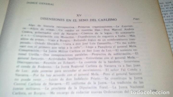 Libros de segunda mano: Conspiración y Guerra Civil - Jaime del Burgo-ALFAGUARA PRIMERA EDICION 1970-VER 28 FOTOS INDICE - Foto 35 - 121457479