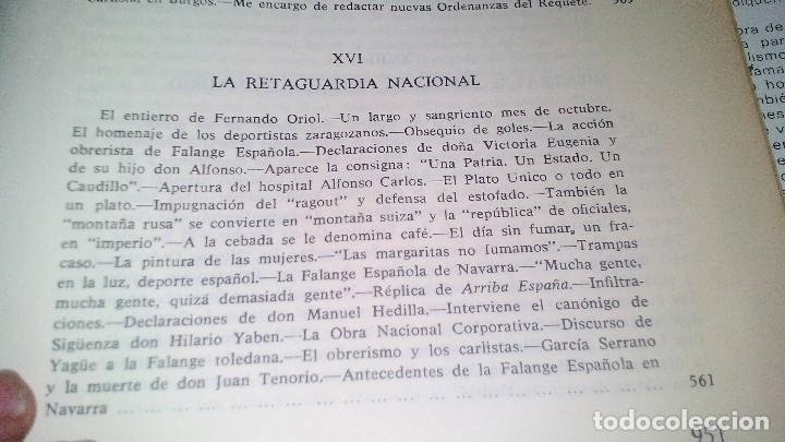 Libros de segunda mano: Conspiración y Guerra Civil - Jaime del Burgo-ALFAGUARA PRIMERA EDICION 1970-VER 28 FOTOS INDICE - Foto 36 - 121457479