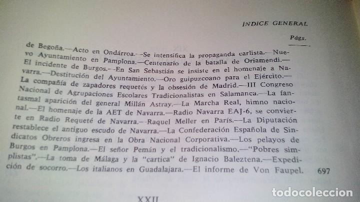 Libros de segunda mano: Conspiración y Guerra Civil - Jaime del Burgo-ALFAGUARA PRIMERA EDICION 1970-VER 28 FOTOS INDICE - Foto 37 - 121457479