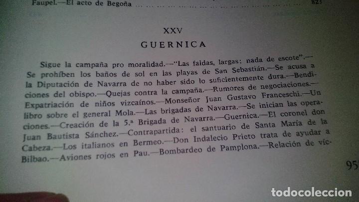 Libros de segunda mano: Conspiración y Guerra Civil - Jaime del Burgo-ALFAGUARA PRIMERA EDICION 1970-VER 28 FOTOS INDICE - Foto 42 - 121457479