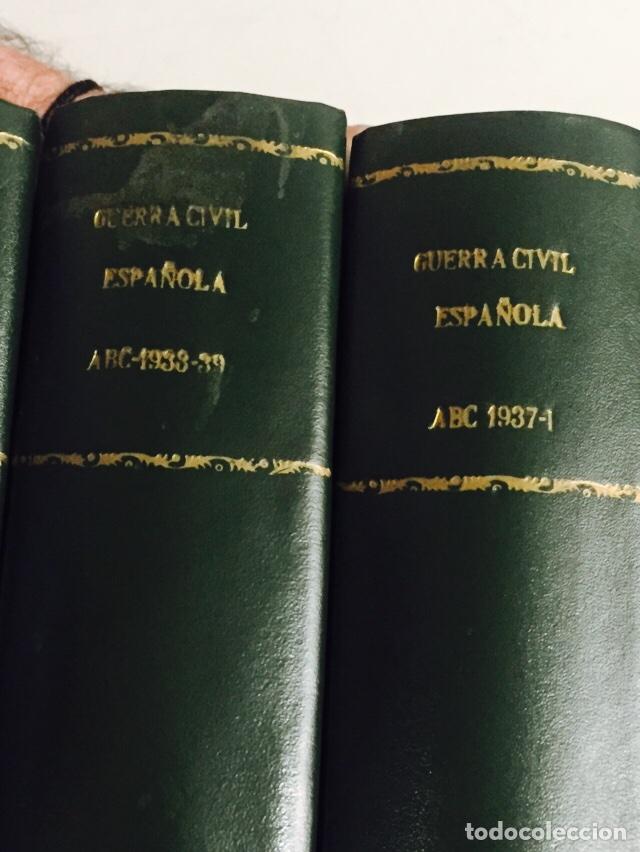 Libros de segunda mano: Lote de 4 volúmenes guerra civil española ABC facsímil de los años 70 encuadernados - Foto 2 - 121903227