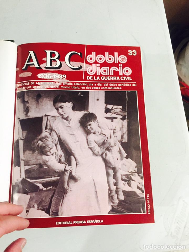 Libros de segunda mano: Lote de 4 volúmenes guerra civil española ABC facsímil de los años 70 encuadernados - Foto 3 - 121903227