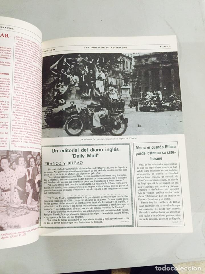 Libros de segunda mano: Lote de 4 volúmenes guerra civil española ABC facsímil de los años 70 encuadernados - Foto 4 - 121903227